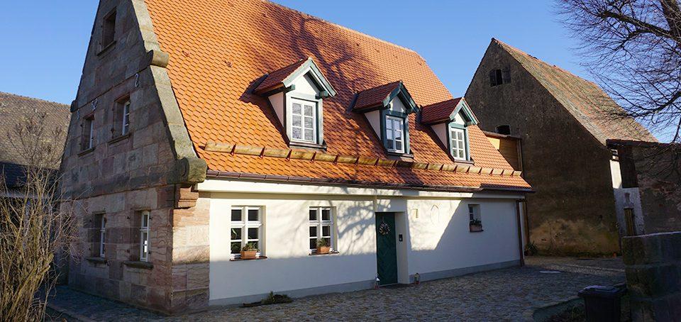 Das instand gesetzte Wohnstallhaus | Seitz Manufaktur in Weigendorf
