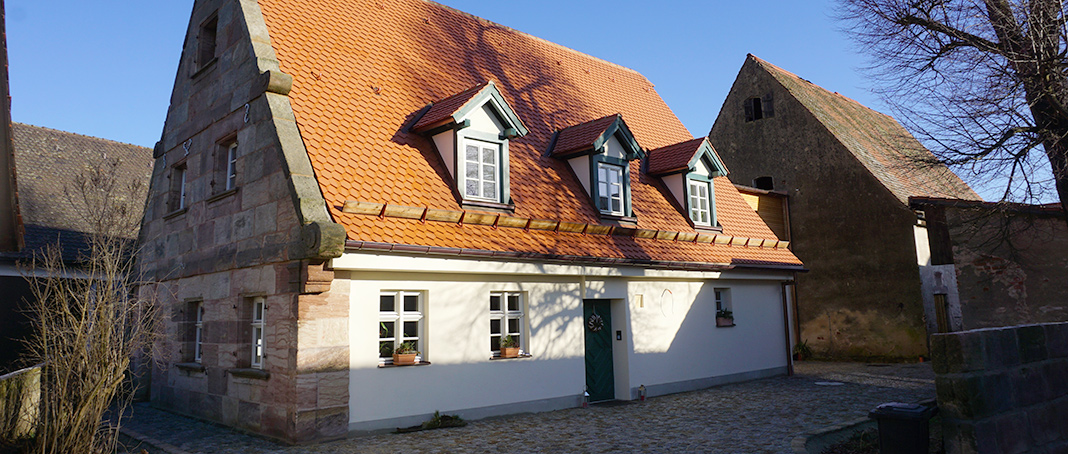 Das instand gesetzte Wohnstallhaus   Seitz Manufaktur in Weigendorf