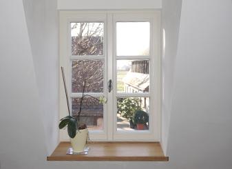 Denkmalschutzfenster im Wohnstallhaus   Seitz Manufaktur in Weigendorf