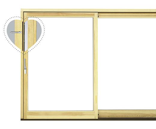 Einbruchhemmende Schiebetüren und Schiebefenster, Siegenia | Seitz Manufaktur in Weigendorf