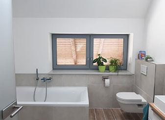 Fenster im Bad, Referenz | Seitz Manufaktur in Weigendorf