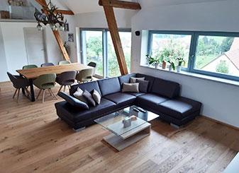 Fenster und Türen im Wohnbereich, Referenz | Seitz Manufaktur in Weigendorf
