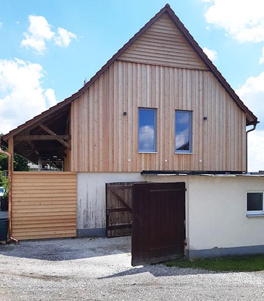 Vom Stall zum Wohnhaus, nachher | Seitz Manufaktur in Weigendorf